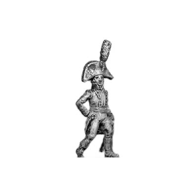 Fusilier/Jager officer, with sabre (18mm)