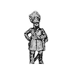 German grenadier officer, standing (18mm)