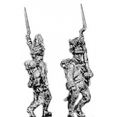 Hungarian grenadier, marching, shoulder arms (18mm)