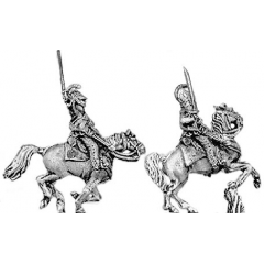 Dragoon/Chevauleger, charging (18mm)