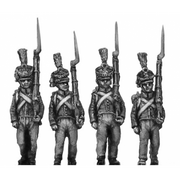 Orange Nassau 28th Regiment, marching (18mm)