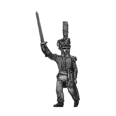 Orange Nassau 28th Regiment officer (18mm)