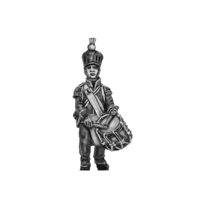 2nd Nassau- Usingen Fusilier, Drummer (18mm)