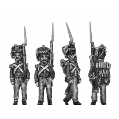 2nd Nassau- Usingen Grenadier, March attack (18mm)