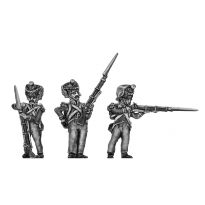 2nd Nassau- Usingen Grenadier, firing and loading (18mm)