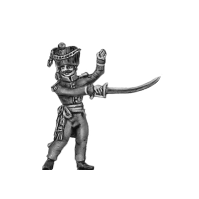 2nd Nassau- Usingen Grenadier, Officer (18mm)