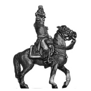 Belgian mounted officer (18mm)