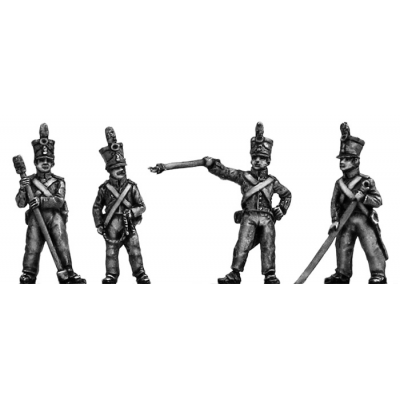 Dutch Foot Artillery crew (18mm)