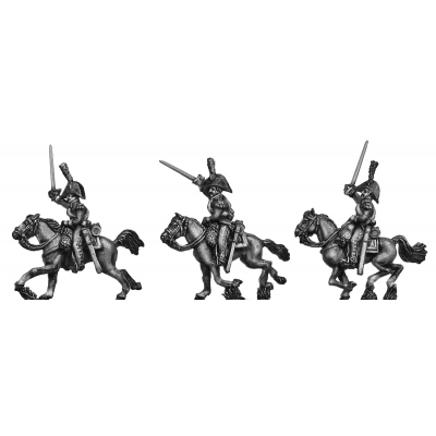 Dutch Carabinier, charging (18mm)