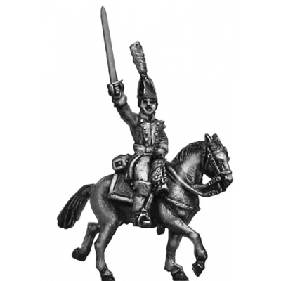 Dutch Carabinier officer, in bicorne (18mm)