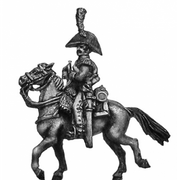 Dutch Carabinier trumpeter, in bicorne (18mm)