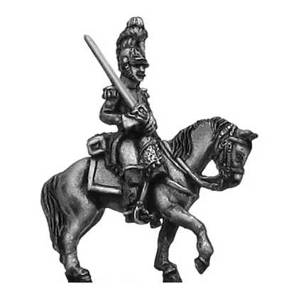 Belgian Carabinier officer, in helmet (18mm)