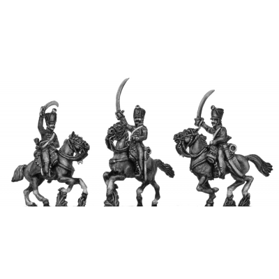 Light Dragoon, charging (18mm)