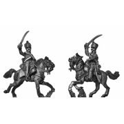 Hussars, charging (18mm)