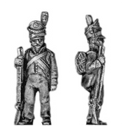 Fusilier, barretina, order arms (18mm)