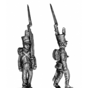 Grenadier, stovepipe, march attack (18mm)