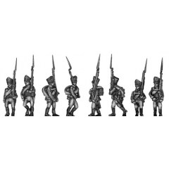 Musketeer, marching (18mm)