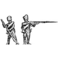 Musketeer, firing and loading (18mm)