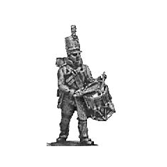 Reserve infantry drummer, English uniform (18mm)