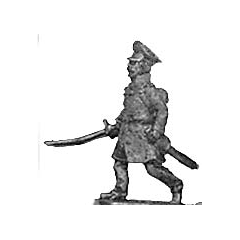 Landwehr, officer (18mm)