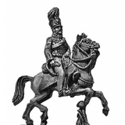 Prussian AFC Officer in Hussar uniform (18mm)