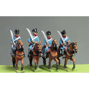 NEW - Prussian Dragoon at rest (18mm)