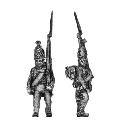 Pavlov Grenadier, march attack (18mm)