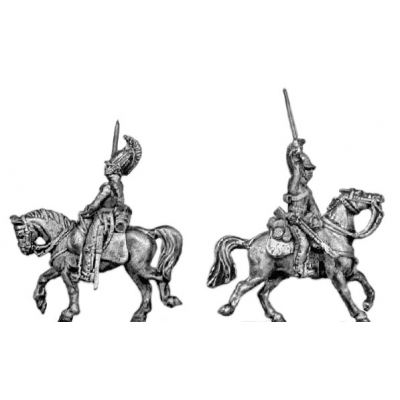 Dragoon, charging (18mm)