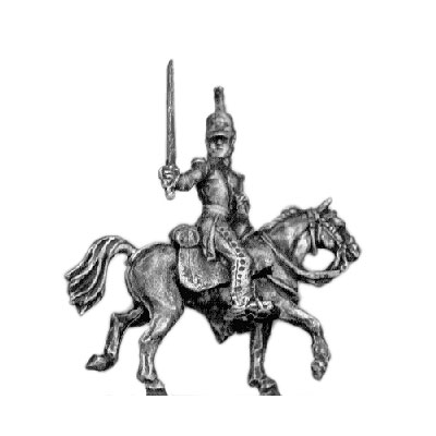 Dragoon officer (18mm)