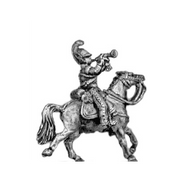 Dragoon trumpeter (18mm)