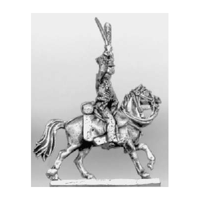 Hussar officer (18mm)