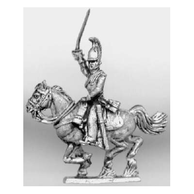 Kurassier officer (18mm)