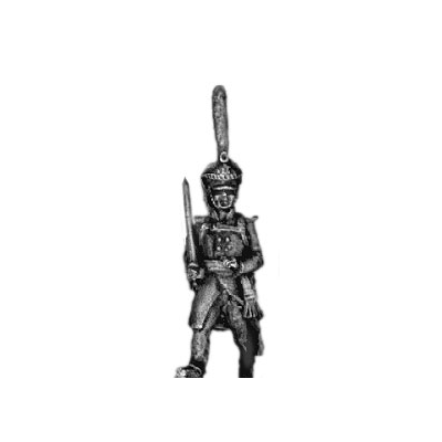 Guard infantry officer, shako (18mm)