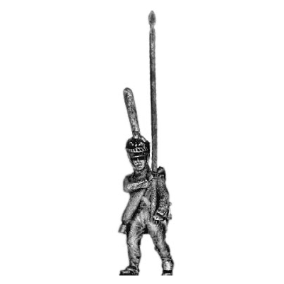 Guard infantry standard bearer, shako (18mm)