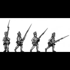 Hungarian Fusiliers advancing (18mm)