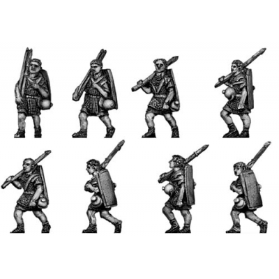Legionary in marching order (18mm)