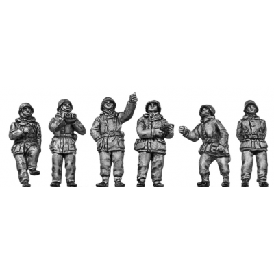 German flak crew - winter suits (20mm)