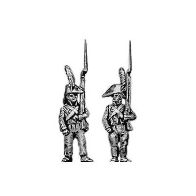 Fusilier, cocked hat, standing (18mm)