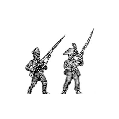 Fusilier, cocked hat, advancing (18mm)