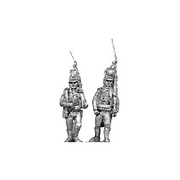 1802 Light infantry, marching (18mm)