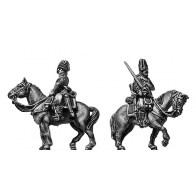 Cavalry trooper, cocked hat (18mm)