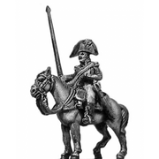 Cavalry standard bearer (18mm)