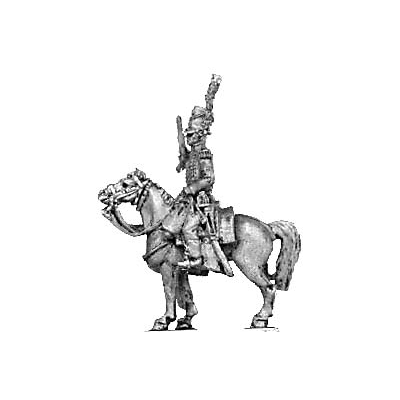 Cazadores a Caballo officer (18mm)