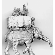 Elephant and crew (18mm)