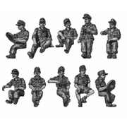 Seated figures for softskin and halftracks (20mm)