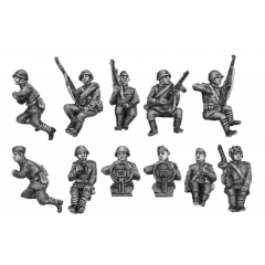 Drivers and crew for carriers, trucks, scout cars (20mm)