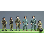 NEW - RAC Crew set 1 full figures (20mm)