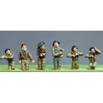 NEW - RAC Crew set 3 half figures (20mm)