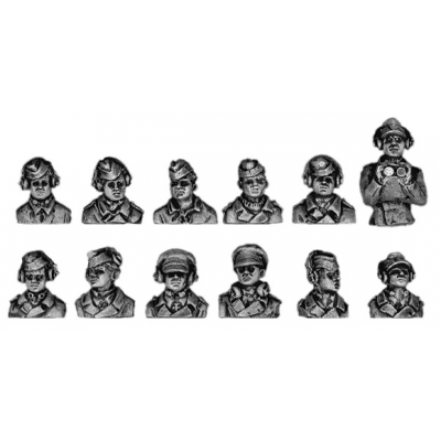 German Panzertruppen hatch crew (20mm)