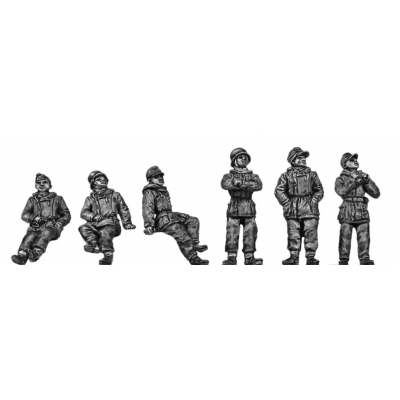 German Panzer crew - winter gear (20mm)